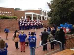Band at Walkway Dedication