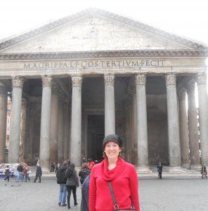 christie fuller pantheon rome
