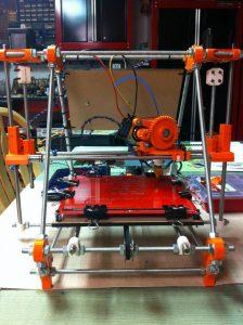 Home-made 3-d printer