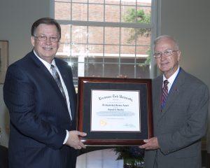 Reggie Distinguished Alumnus