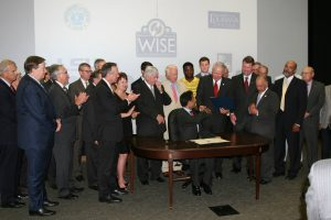 WISE Bill Signing