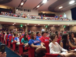 Freshman Convocation 2014