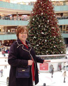 Kathy at Gallleria