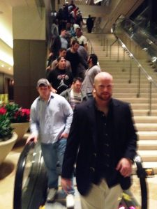 Mike Shrang escalator