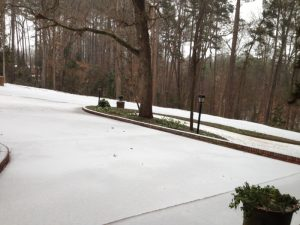 Snowed out of Ruston – making the most of it