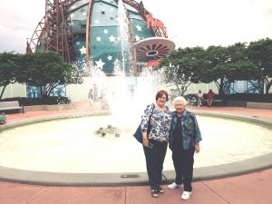 Kathy & Peg at Planet Hollywood