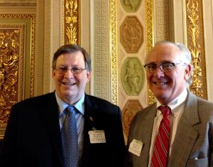 With Craig Spohn in Senate Reception Chamber of Capitol