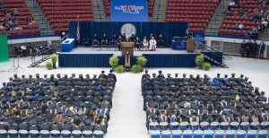 2015 Summer Commencement, Thomas Assembly Center, Thursday, 08-20-2015, (photo by Donny Crowe), Copyright:Louisiana Tech University.All Rights Reserved.(dcrowe@latech.edu) 318-257-4854