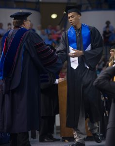 Michale Kyser, 2015 Summer Commencement, Thomas Assembly Center, Thursday, 08-20-2015, (photo by Donny Crowe), Copyright:Louisiana Tech University.All Rights Reserved.(dcrowe@latech.edu) 318-257-4854