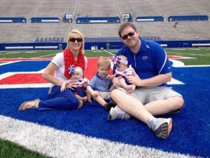Bret & family at the Joe