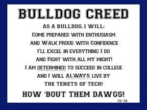 Bulldog Creed