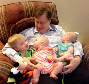 Christopher & twins