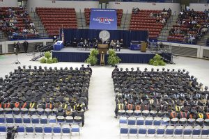 2015 Fall Commencement, Saturday, 11/21/2015, Thomas Assembly Center, Ruston, LA, (photo by Donny J Crowe), Copyright:Louisiana Tech University.All Rights Reserved.(dcrowe@latech.edu) 318-257-4854
