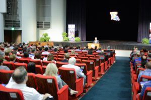 Fall Faculty and Staff Meeting , Howard Center for the Performing Arts, Tuesday, 09-8-2015, (photo by Donny J Crowe), Copyright:Louisiana Tech University.All Rights Reserved.(dcrowe@latech.edu) 318-257-4854