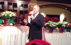 Master auctioneer Gary Kennedy