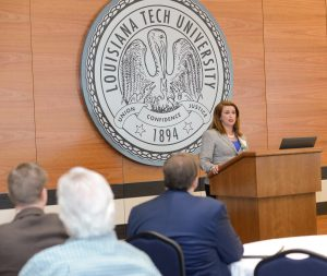 Committee of 100, Davison Athletic Complex, Louisiana Tech University, Ruston, LA, Tuesday, 01-5-2016, (photo by Donny J Crowe), Copyright:Louisiana Tech University.All Rights Reserved.(dcrowe@latech.edu) 318-257-4854, (photo by Donny J Crowe)