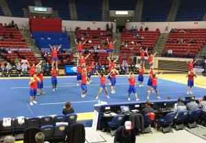 Cheerleaders at TAC