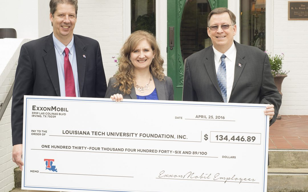 Giving for a very good cause: talented Tech students