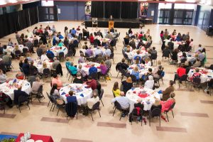 Dr. Les Guice, May Faculty Staff Luncheon, Monday, 05/2/2016, Student Center, Ruston, LA, Louisiana Tech University, (photo by Donny J Crowe), Copyright:Louisiana Tech University.All Rights Reserved.(dcrowe@latech.edu) 318-257-4854
