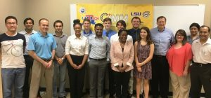 CIMM REU students and faculty