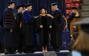 DBA Grad Hooding