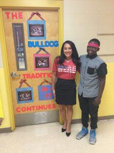 Lorena Herrera & student