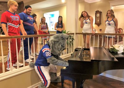 Champ at piano