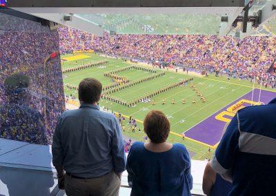 Les & Kathy at Tiger Stadium