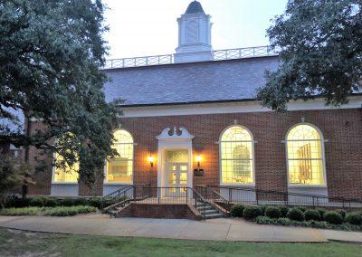 University Hall at Homecoming