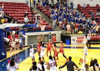 Lady Techsters defeat Houston