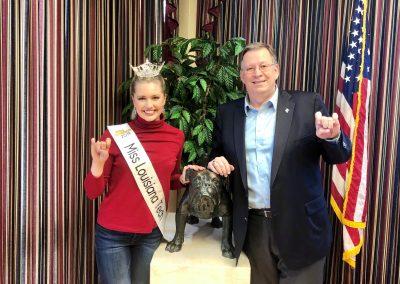 Miss Tech 2019 in office