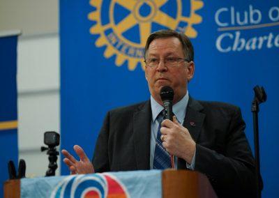 Speaking to Shreveport Rotary