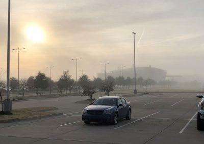 A foggy week