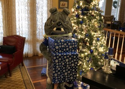 Looks like Champ has been a very good Dog this year.