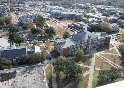Keeny Circle from top of Wyly