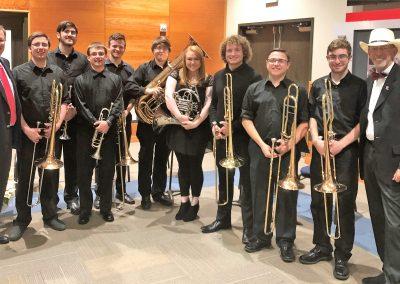 Tech brass ensemble at DAC