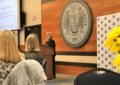 Corre speaks at United Way