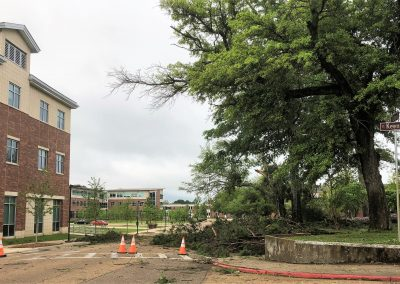 Damage in Keeny Circle