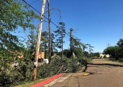 Western Street damage