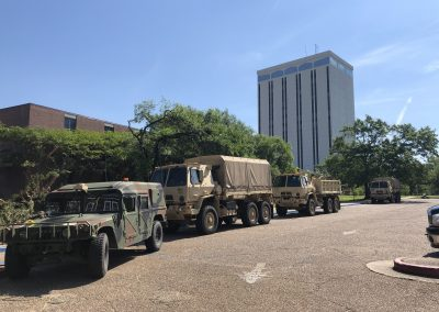 National guard at Wyly